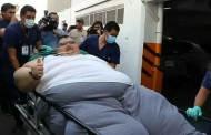 أسمن رجل في العالم يبدأ مشواره مع الحمية على خطى المصرية إيمان أحمد