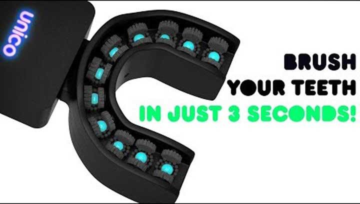 نظف أسنانك في أقل من 3 ثوان