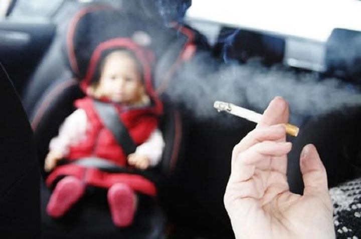 التدخين السلبي وتأثيره على الأطفال