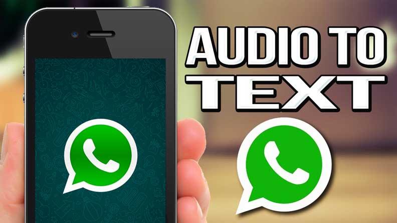 تطبيق يحول الرسائل الصوتية إلى نصية على واتساب
