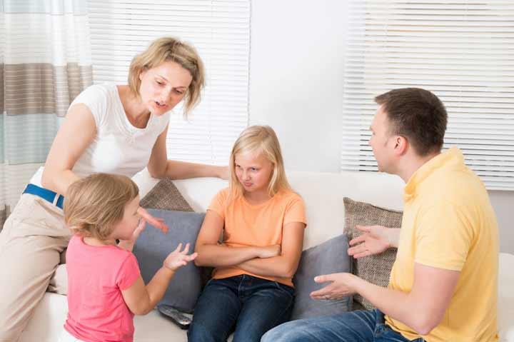 من المسؤول عن الإزعاج داخل الأسرة؟