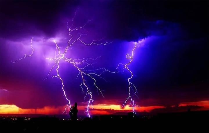 ظاهرة البرق قد تصبح نادرة