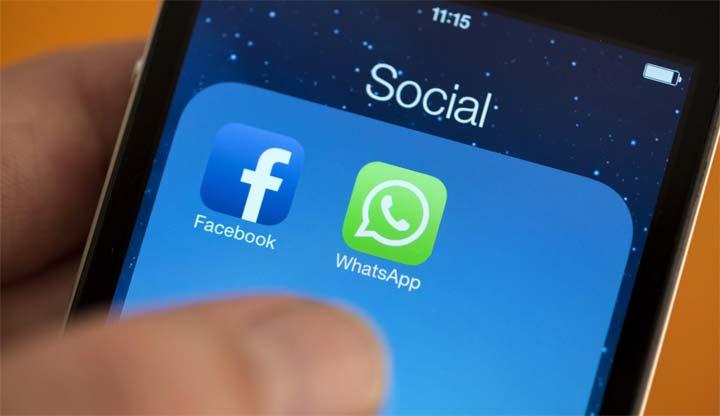 """55 مليار رسالة ترسل في اليوم عبر """"واتس آب"""""""