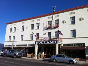 The Holland Hotel. Alpine.