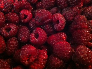 Beautiful raspberries