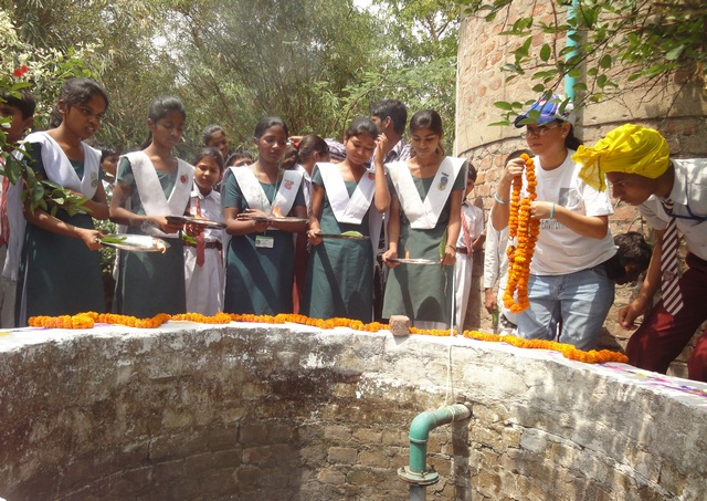 Earth Day celebration 2011: Marriage of a Well to a Tree (5/6)