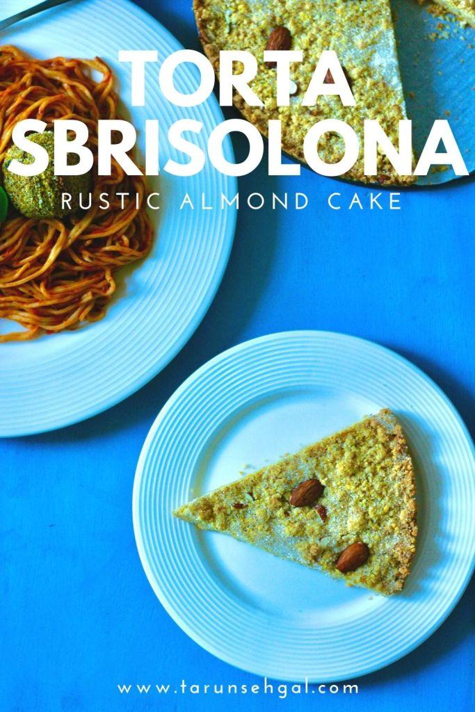 Torta Sbrisolona Almond Cake
