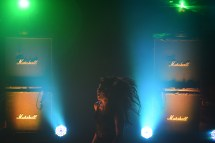 Alexis Krauss, from the band Sleigh Bells, at their recent show at Terminal West.