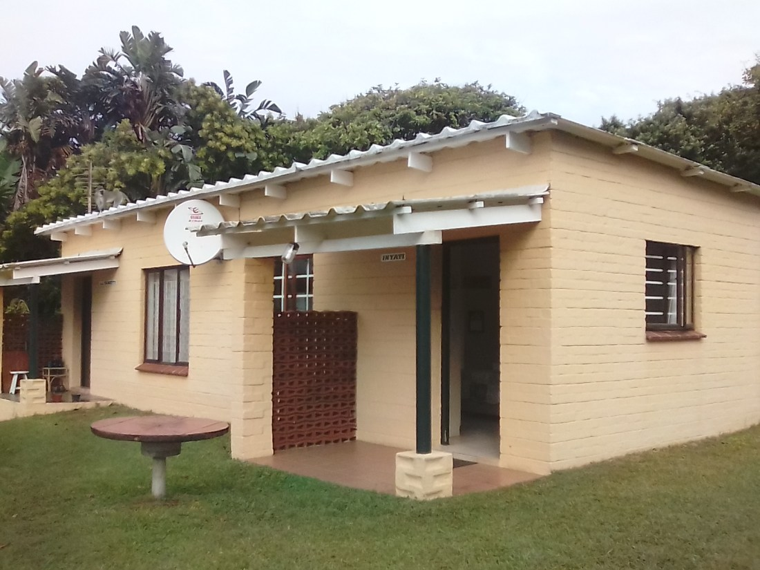 My self-catering 'B' Villa during my stay in Blythedale.