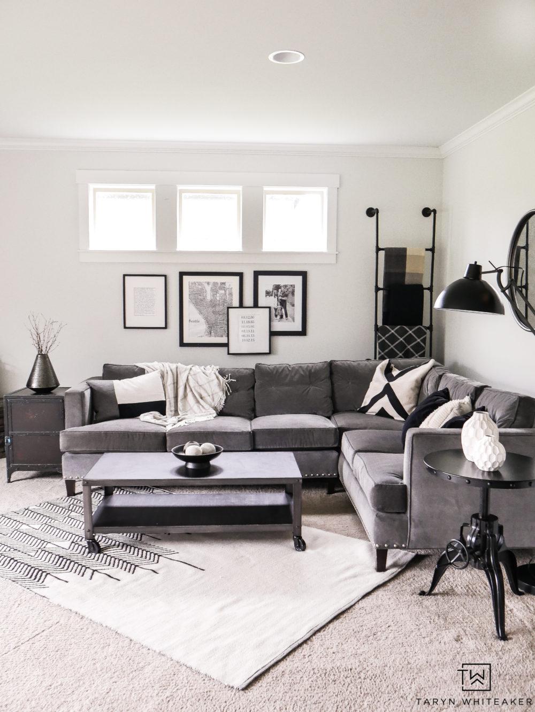 Living Room Corner Sectional Taryn Whiteaker