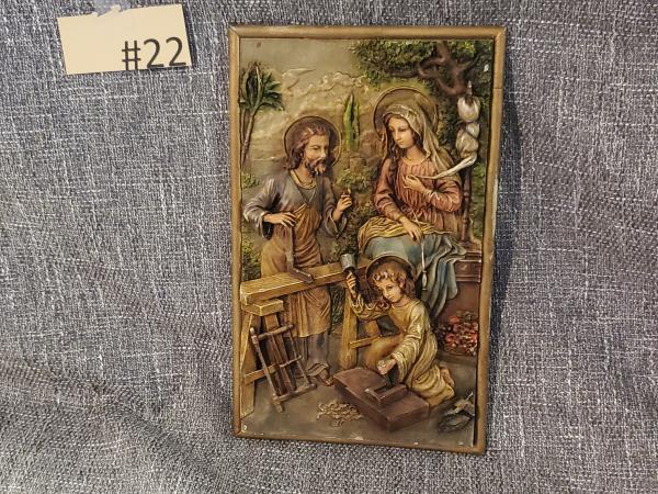 Sacred Family-Joseph, Mary, Jesus