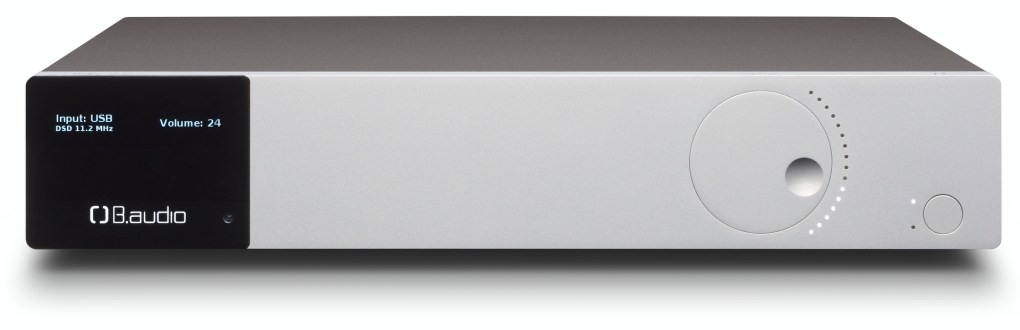 B.audio B.dpr one preamplifier and B.amp one power amplifier