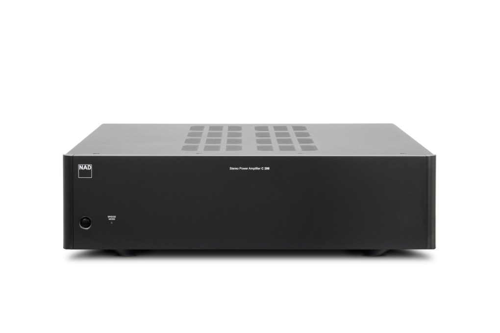 NAD Intros C 298 Power Amplifier With Purifi Eigentakt Amplification