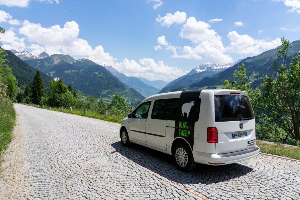 C'est parti pour une semaine de roadtrip en van en Suisse