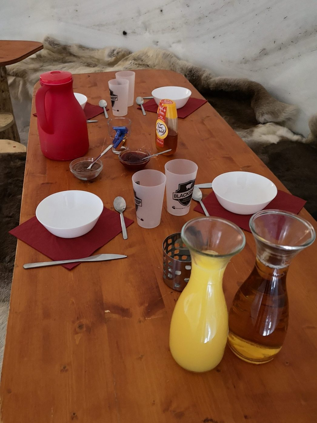 Le petit dejeuner des braves