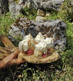 Un dessert à tomber dans le Vercors