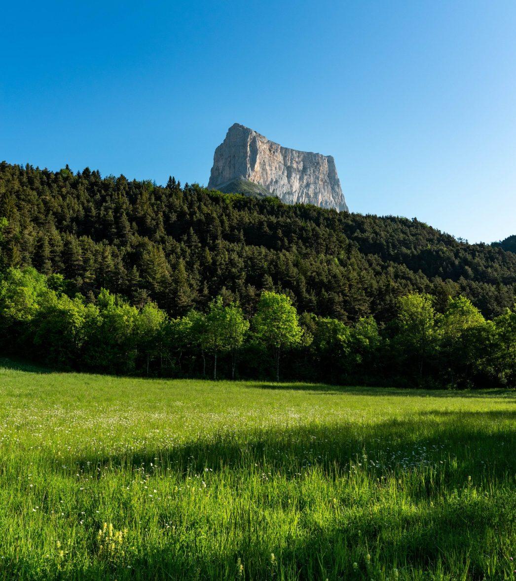 Le Mont Aiguille se dévoile ;)