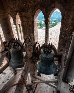 Les cloches de l'église de Die