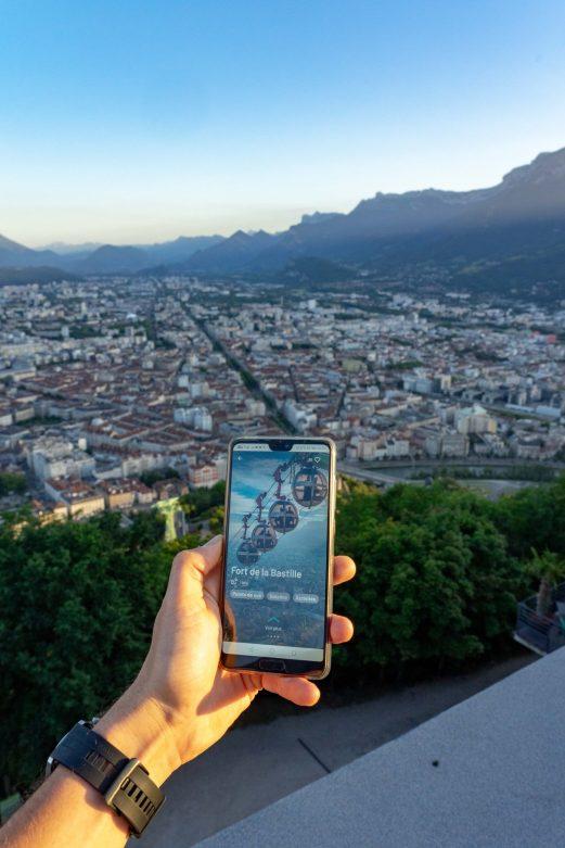 La Bastille avec Prairy App
