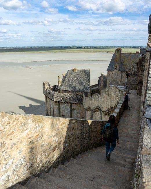 Balade au coeur du Mont Saint-Michel
