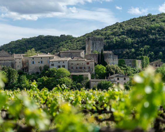 """Un des trois """"Plus beaux villages de France"""" : Montclus"""