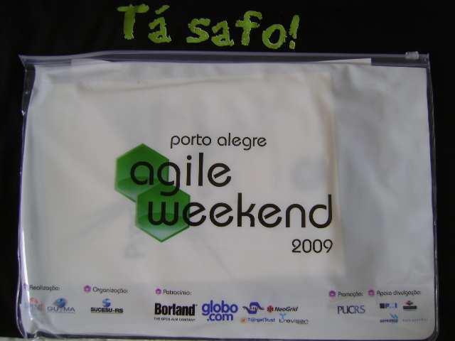 Tá safo! no Agile Weekend 2009