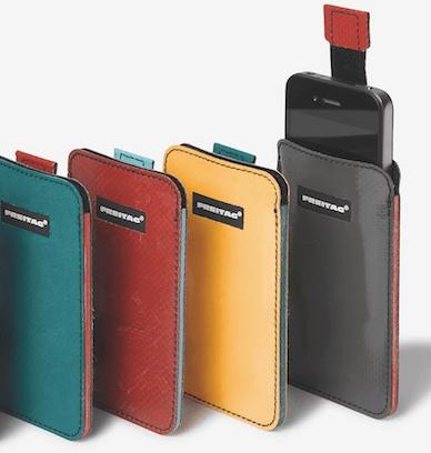 FREITAG F24 iPhone 4 Sleeve: für jede Generation ihre eigene Hülle