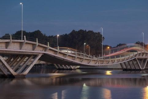 Puente de la Barra Arroyo Maldonado Uruguay