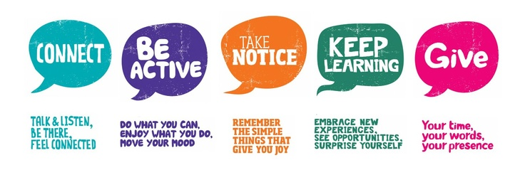 Five Ways to Wellbeing - Mental Health