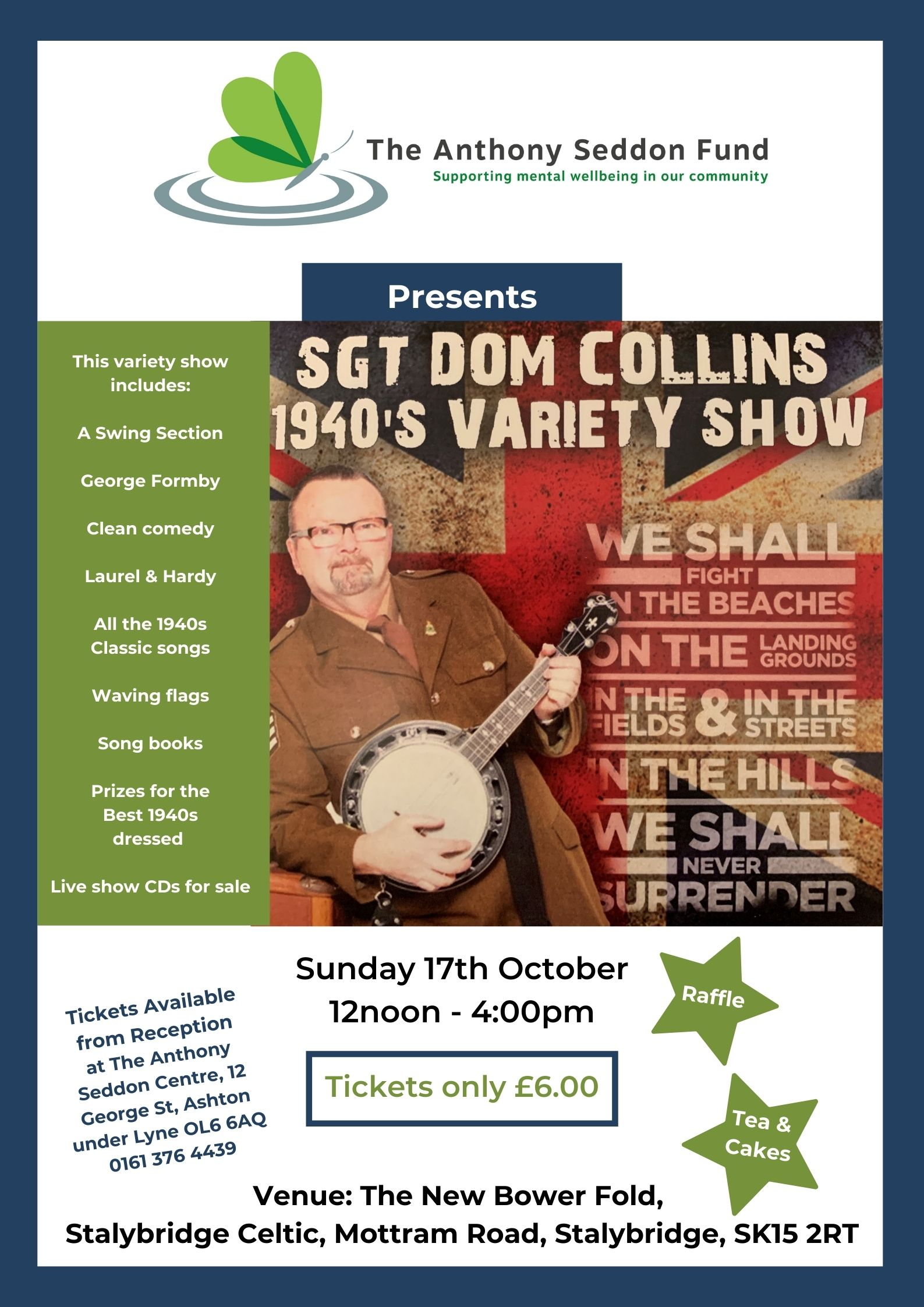 1940s Variety Show - 17th October 2021