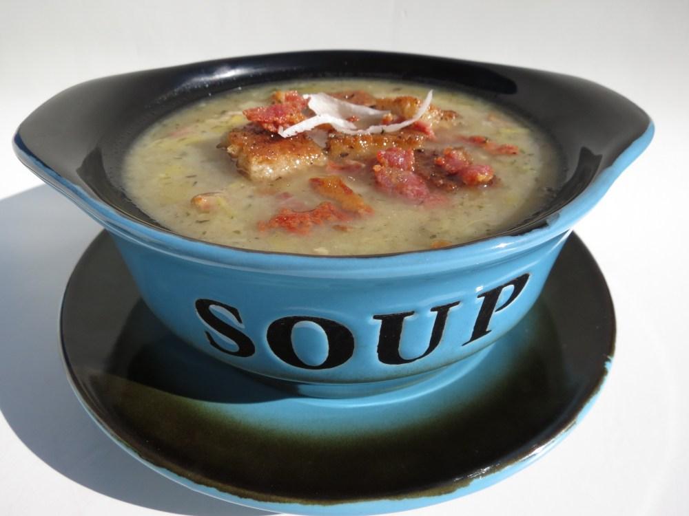 Bacon, Leek and Potato Soup (1/6)