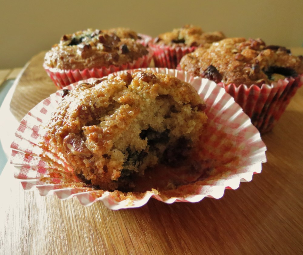 Blueberry and Pecan Muffins (1/6)