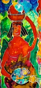 Goddess Tasha Paley Art