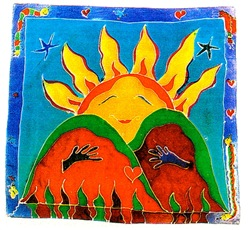 Mother Sun Tasha Paley Art