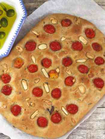 Herb & Garlic Focaccia easy bread baking