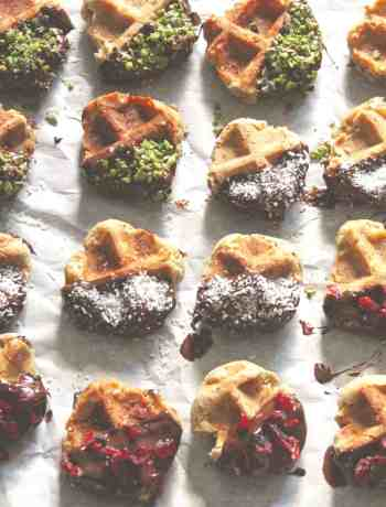 Glutenfree Waffle Cookies