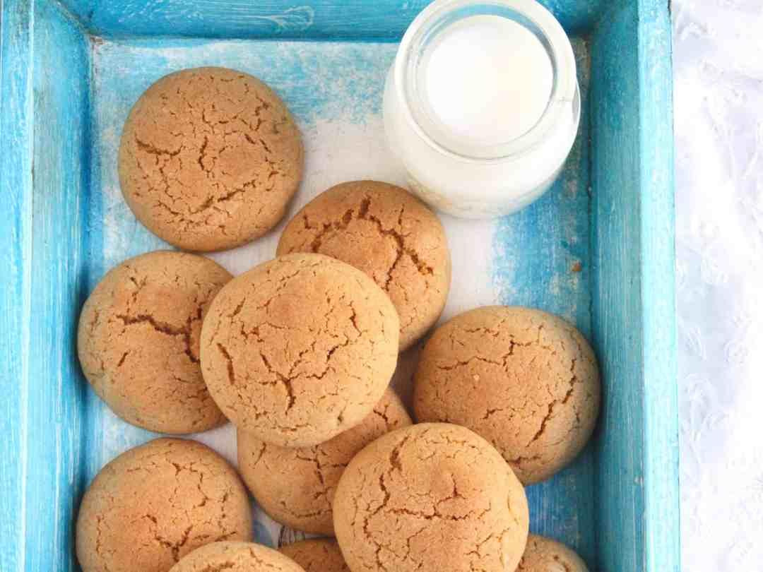 Wholewheat Chai Spiced Walnut Cookies