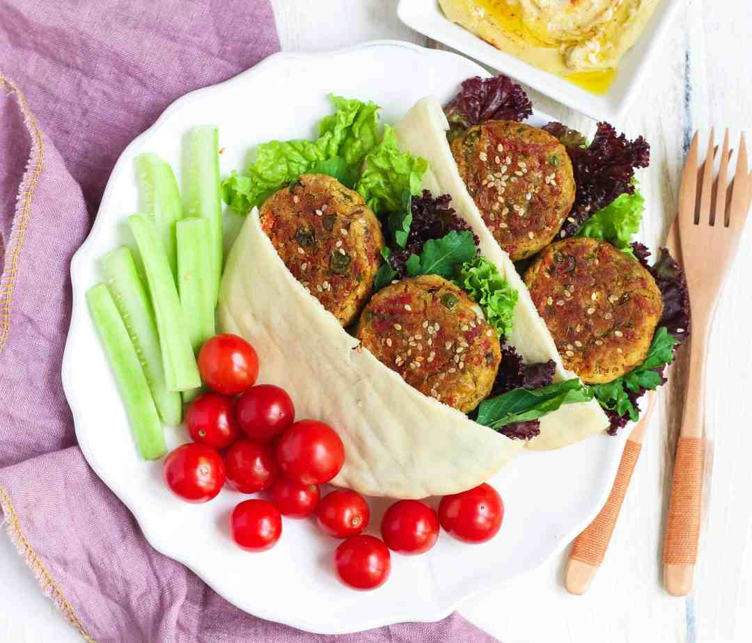 Vegetable Cheese Falafel vegetarian, healthy, easy recipe, glutenfree recipe