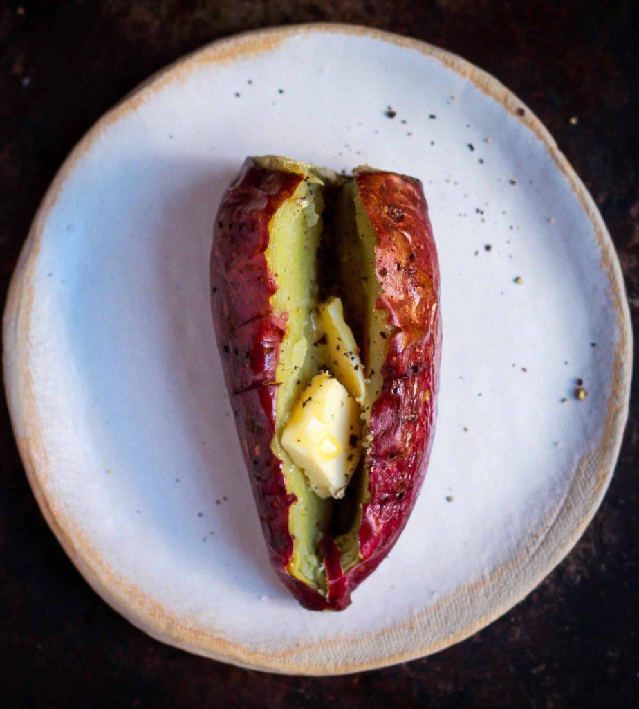 Baked Sweet Potato healthy nutritious vegan glutenfree meal