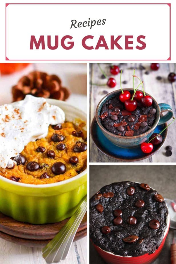 Mug Cakes from the blog