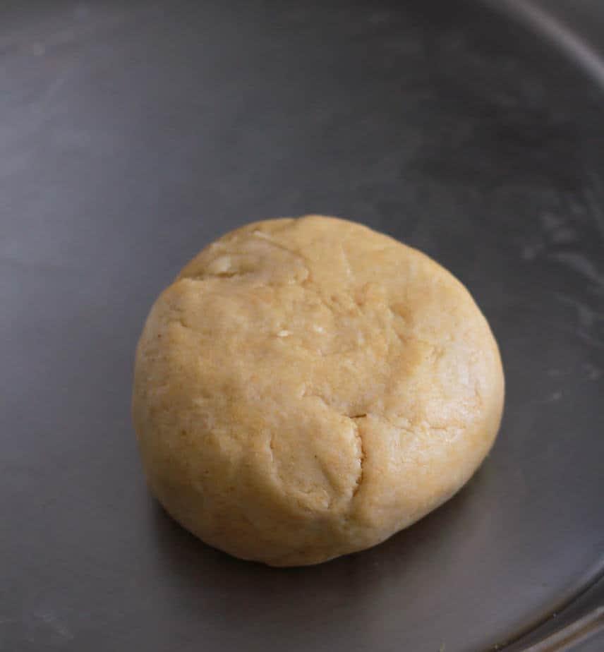 Dough | Gujiya | Baked Mawa Gujiya