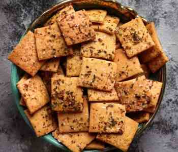 Sourdough Crackers | Easy Vegan Sourdough Cracker Recipe