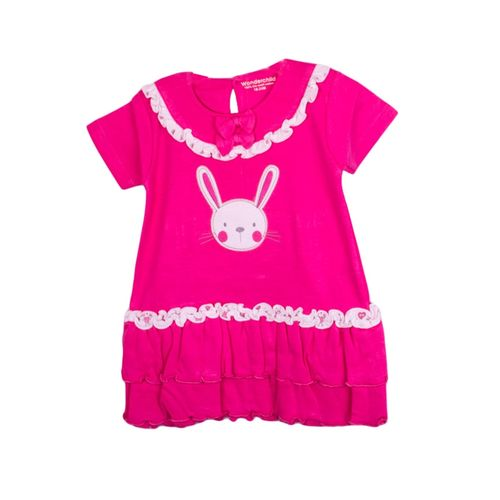 2pc Girls set Frock and Pink