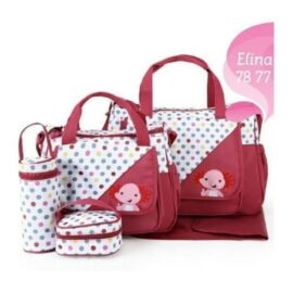 5in1 Diaper Bag - RED