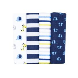 Receiving Blankets(set of 4)- blue