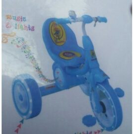 Kids Bike with Music & lights-blue