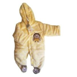 Baby Warm Jumpsuit-Yellow