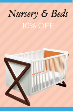 baby nursery and beds