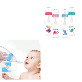 Baby Squeeze Feeding Bottle