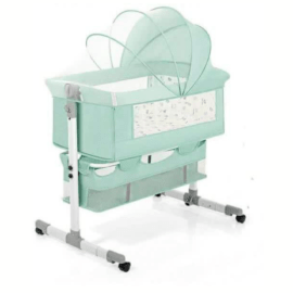 Green Baby Cosleeper Bed